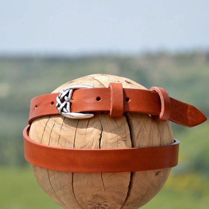 belt 1632 in calfskin