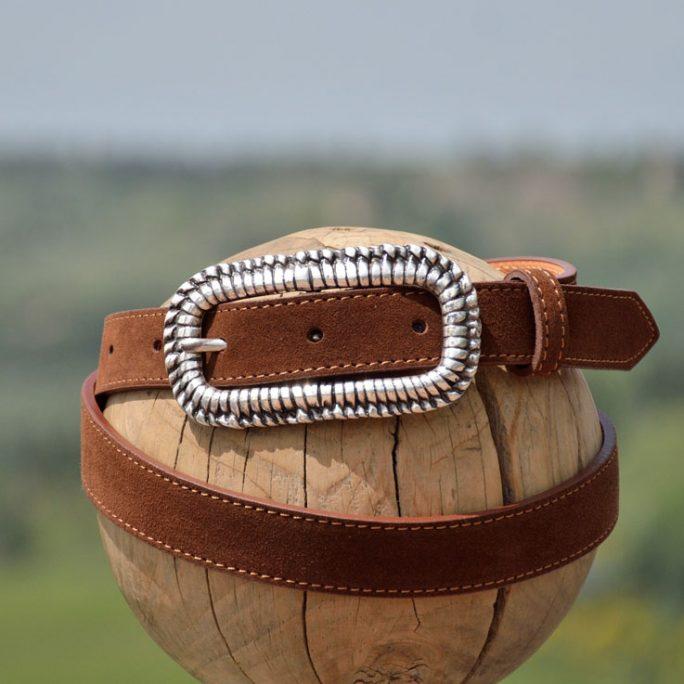 cintura donna 1360 in suede