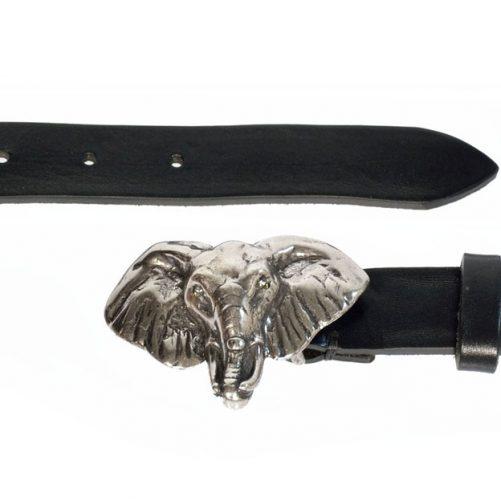 cintura elefante cuoio