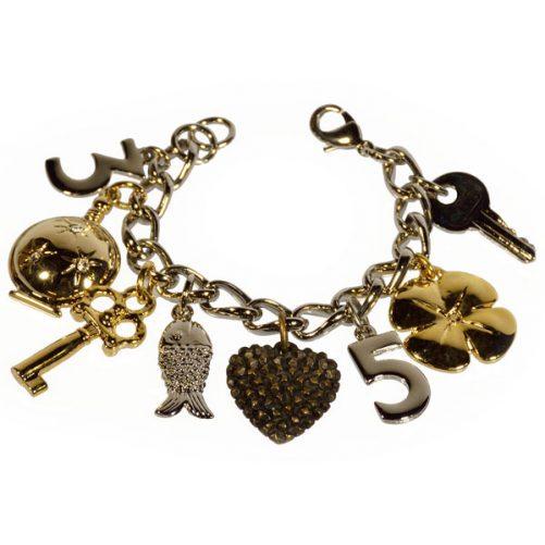 braccialetto a766 ciondoli