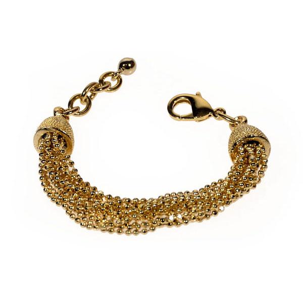 braccialetto fili dorati