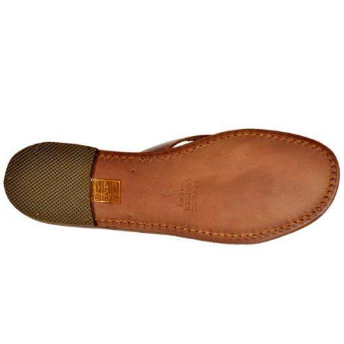 sandalo suola cuoio
